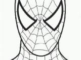 Spiderman Face Coloring Page 3771 Spiderman Free Clipart 28