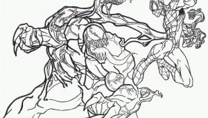 Spiderman Venom Coloring Pages Printable Spiderman and Venom Coloring Page Coloring Home