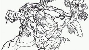 Spiderman Venom Coloring Pages Printable Spiderman and Venom Coloring Page Coloring Home