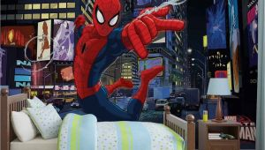 Spiderman Wall Mural Huge Superhero Marvel High Quality Wallpaper Murals Spiderman
