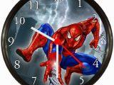 Spiderman Wall Mural Sticker Amazon Quartz Spiderman Movie Wall Clock Home & Kitchen