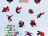Spiderman Wall Mural Sticker Diy 11 Pose Spiderman Decorative Wall Stickers for Nursery Kids Room Decorations Pvc Super Hero Decor Wall Mural Art Home Decals