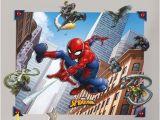 Spiderman Wall Mural Sticker Wanddekoration Spiderman East Urban Home