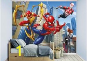 Spiderman Wall Mural Uk 81 Best Marvel Bedroom Ideas Images