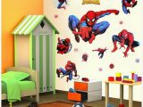 Spiderman Wall Murals Wallpaper Free for Kids Rooms Wall Decals Home Decor