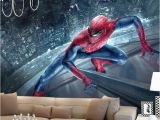 Spiderman Wallpaper Murals Großhandel Marvel Spiderman Kinder Jungen Kinder Fototapete