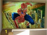 Spiderman Wallpaper Murals Pin by Laura Crant On Jaxs Room