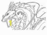 Spirited Away Coloring Pages 157 Best Pages Images