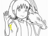 Spirited Away Coloring Pages 52 Best Ls Images