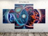 Spiritual Murals Synergia the Power Of Connection Tessa Smits & Elske Haenen