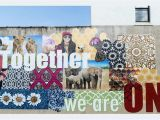 "Spiritual Murals to Her We are E"" In Philadelphia Pa the Chromadolls for"