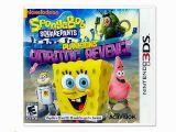 Spongebob Squarepants Wall Mural Nintendo 3ds Spongebob Squarepants Plankton S Robotic Revenge