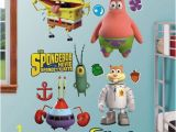 Spongebob Squarepants Wall Mural Spongebob Squarepants Out Of Water Collection Wall Decals by
