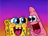 Spongebob Squarepants Wall Murals My Spongebob and Patrick Digital Drawing ⭐️ Print Cards Of