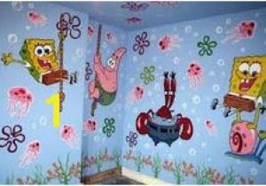 Spongebob Wall Mural 14 Best Abby S Room Images