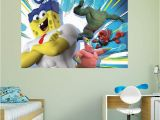 Spongebob Wall Mural Fathead Spongebob Movie Wall Mural 18 Products