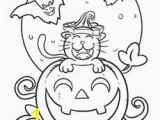 Spooky Cat Coloring Pages 334 Best Coloring Halloween Images On Pinterest In 2018