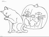 Spooky Cat Coloring Pages Inspirational Kids Coloring Pages for Girls Halloween Cats In