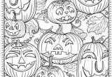 Spooky Halloween Coloring Pages Printable Free Printable Halloween Coloring Pages for Adults