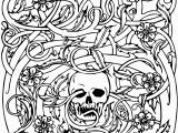 Spooky Halloween Coloring Pages Printable Pin On Coloring Page Ideas