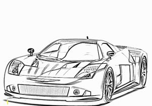 Sports Car Coloring Pages for Adults 25 Sports Car Coloring Pages for Children 14