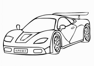 Sports Car Coloring Pages Free Sports Car Coloring Page
