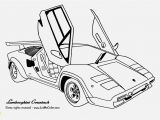 Sports Car Colouring Pages to Print Lamborghini Coloring Pages the First Ever Custom Race Car Coloring