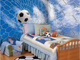 Sports Murals for Bedrooms Custom 3d soccer Wallpaper Sports Football themed Stadium