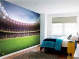 Sports Stadium Wall Mural 1wall Football Stadium Pitch Football Ground Wallpaper Wall Mural