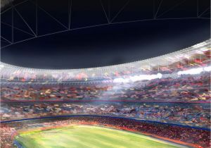 Sports Stadium Wall Mural ↑↑tap and Get the Free App Sport Stadium Colorful Green Field