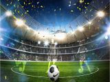 Sports Stadium Wall Mural Custom 3d soccer Wallpaper Sports Football themed Stadium