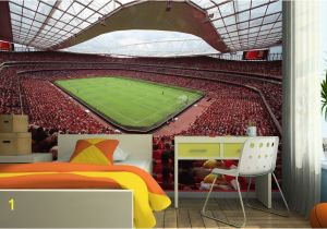 Sports Stadium Wall Mural Emirates Stadium Arsenal Wall Mural In 2019