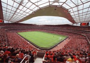 Sports Stadium Wall Mural Emirates Stadium Wallpaper