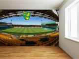 Sports Stadium Wall Mural norwich City Fc Carrow Road Full Wall Mural 2 Wall Stickers F