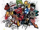 Spray Paint Wall Murals Graffiti Fototapete 240 Cm X 300 Cm In 6 Teilen East Urban
