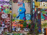 Spray Paint Wall Murals Hoffnung Art Gallery Redaktionelles Stockbild Bild Von