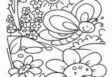 Spring Break Printable Coloring Pages Spring Time Coloring Pages