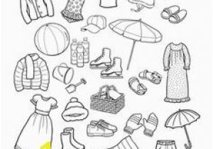 Spring Clothes Coloring Pages Summer Clothing Color the Items that You Would Wear In the Summer