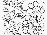 Spring Coloring Pages Free Printable Free Spring Coloring Pages Glamorous Nature Coloring Pages 587 Image