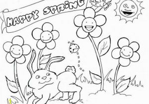 Spring Coloring Pages to Print for Adults Happy Spring Coloring Pages Place Pinterest