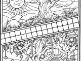 Spring Equinox Coloring Pages Amazon Equinox A Coloring Book