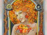 Spring Equinox Coloring Pages Ostara Estre Spring Equinox Pagan Sabbat Art