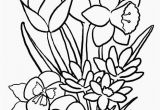 Spring Flowers Coloring Book Pages 13 Elegant Spring Flowers Coloring Pages