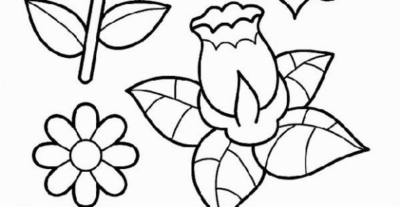 Spring Flowers Coloring Pages 20 Spring Flower Coloring Pages