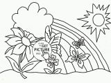 Spring Flowers Coloring Pages Flower Coloring Pages to Print Daffodil Spring Flower Coloring Page