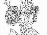Spring Flowers Coloring Pages for Adults Coloring Page Printout Inspirational Spring Flowers Coloring
