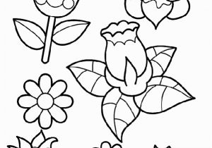 Spring Flowers Coloring Pages for Adults Spring Flowers Coloring Page