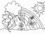 Spring Flowers Coloring Pages for Kids 25 Creative Of Spring Flowers Coloring Pages
