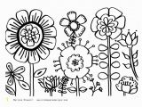 Spring Flowers Coloring Pages for Preschoolers Fresh Spring Coloring Pages Free Printable Coloring Pages