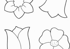 Spring Flowers Coloring Pages for Preschoolers Spring Flowers Coloring Printout Spring Day Cartoon Coloring Pages